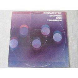 Donald Byrd - Stepping Into Tomorrow LP Vinyl Record For Sale