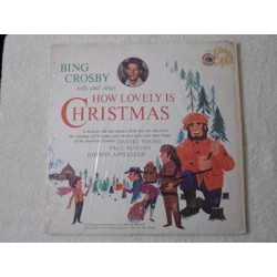 Bing Crosby - How Lovely Is Christmas LP Vinyl Record For Sale