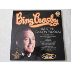 Bing Crosby - Live At The London Palladium IMPORT LP Vinyl Record For Sale