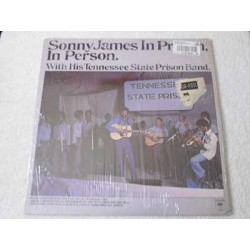 Sonny James - In Prison In Person LP Vinyl Record For Sale