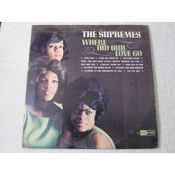 The Supremes - Where Did Our Love Go LP Vinyl Record For Sale