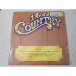 14 Karat Country - 80s Country Music compilation LP Vinyl Record For Sale