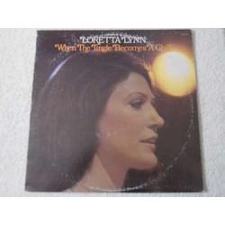 Loretta Lynn - When The Tingle Becomes A Chill LP Vinyl Record For Sale