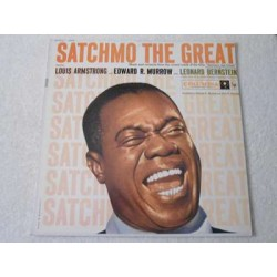 Louis Armstrong - Satchmo The Great Soundtrack LP Vinyl Record For Sale
