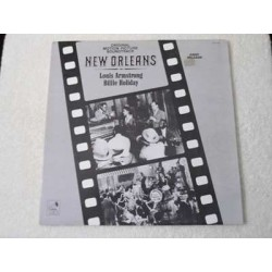 Louis Armstrong / Billie Holiday - New Orleans Soundtrack LP Vinyl Record For Sale