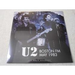 U2 - Boston FM May 1983 / Live Radio Broadcast LP Vinyl Record For Sale