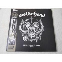 Motorhead - It Never Gets Dark Tour LP Vinyl Record For Sale