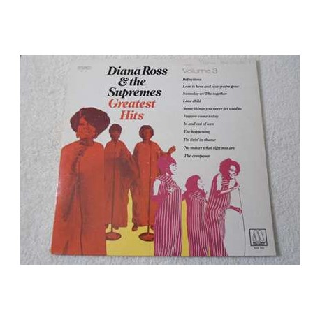 Diana Ross and the Supremes - Greatest Hits Vol 3 LP