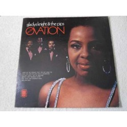 Gladys Knight - Standing Ovation LP Vinyl Record For Sale