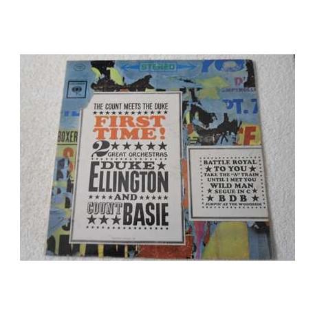 Duke Ellington And Count Basie - The Count Meets The Duke LP Vinyl Record For Sale