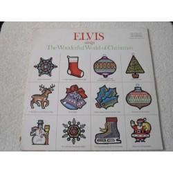 Elvis - Sings The Wonderful World Of Christmas Vinyl LP For Sale