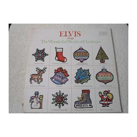 Elvis - Sings The Wonderful World Of Christmas Vinyl LP Foir Sale