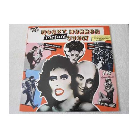 The Rocky Horror Picture Show Soundtrack Vinyl Record Album