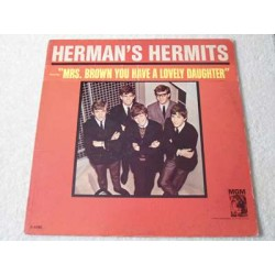 Hermans Hermits - Mrs. Brown You Have A Lovely Daughter LP Vinyl Record For Sale