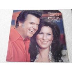 Conway Twitty & Loretta Lynn - Dynamic Duo LP Vinyl Record For Sale