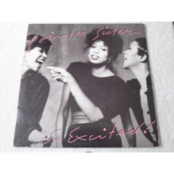 Pointer Sisters - So Excited! LP Vinyl Record For Sale
