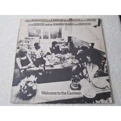 Traffic - Welcome To The Canteen LP Vinyl Record For Sale