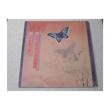 Heart Dog And Butterfly Vinyl Lp Gatefold For Sale