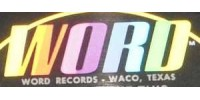 Word Records Logo - Vinyl Records For Sale On Word Records Label