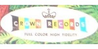 Crown Records Logo - Vinyl Records For Sale On Crown Records Label