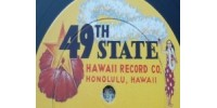 49th State Hawaii Records Logo - Vinyl Records For Sale On 49th State Hawaii Records Label