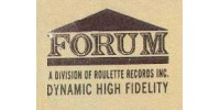 Forum Records Logo - Vinyl Records For Sale On Forum Records Label