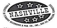 Nashville Records Logo - Vinyl Records For Sale On Nashville Records Label