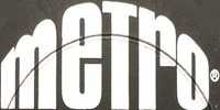 Metro Records Logo - Vinyl Records For Sale On Metro Records Label