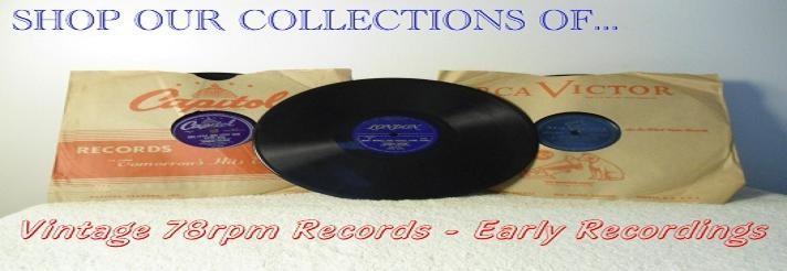 Shop For Vintage 78rpm Records